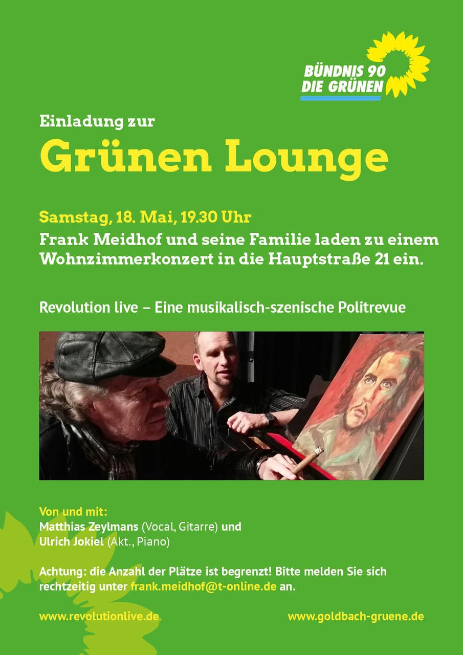 Grüne Lounge